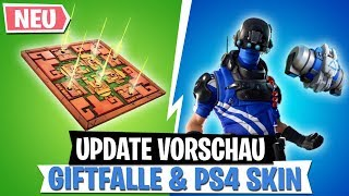 *UPDATE* Preview | NEW Poison Trap, PS4 Skin, The Bottom is Lava LTM! | Fortnite Battle Royale