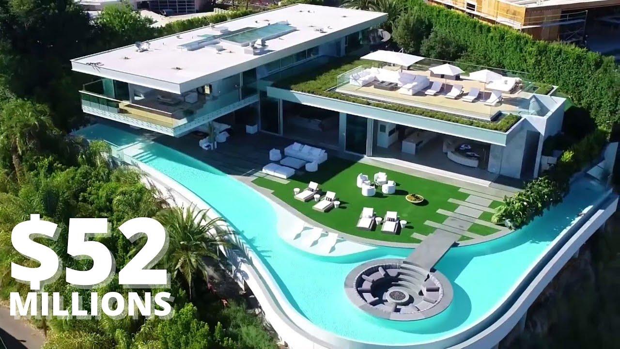 Inside A 52 Million La Home 9272 Robin Drive Youtube
