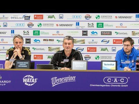 33. Spieltag   AUE - SGD   Pressekonferenz nach dem Spiel