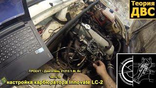 ''ПРОЕКТ - Двигун 21213 1.9 L 8v'': Частина 10 налаштування карбюратора Innovate LC-2