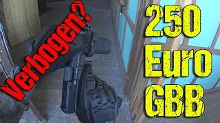 250€ GBB Verbogen? Highlander Airsoft un-Funny Moments CQB Gameplay Lauterbach 01.07.2018