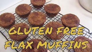Cinnamon Raisin Flaxseed Muffins - Gluten Free