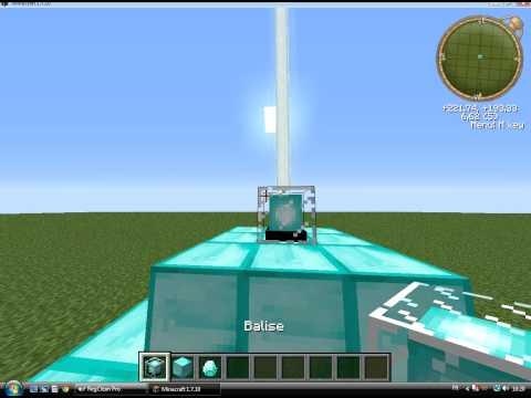 tuto: a quoi sert la balise sur minecraft ?