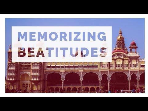 How To Memorize The Beatitudes