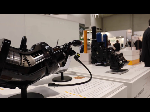 Impressions Parker Hannifin at Hannover Messe 2017 - Germany