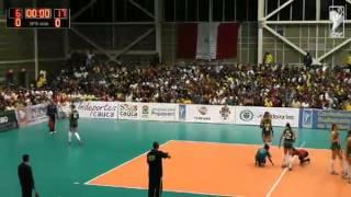 Sudamericano de Voleibol Femenino Sub 22 Popayán 2014 - Brasil vs. Colombia
