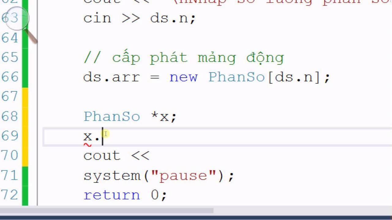 [Lập trình C/C++] Bài 48. Mảng động – Mảng struct