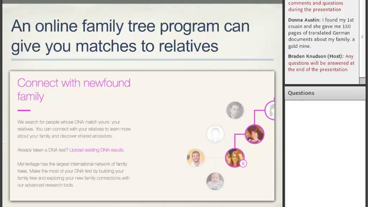 making family trees online