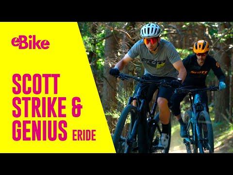 BIKE Pruebas: Scott Strike eRide y Genius eRide