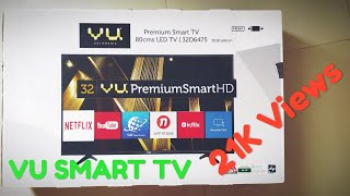 VU 32 Inch HD Ready Smart TV || 32D6475_HD Smart || Hindi