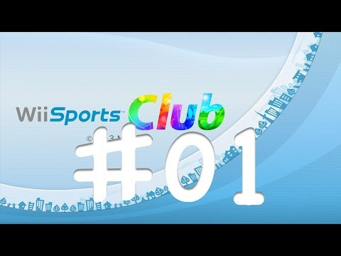 Let's Play: Wii Sports Club | Tennis & Bowling Online | Episode 1 | Deutsch - German