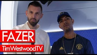 Fazer on N-Dubz, new music, production, Lethal Bizzle - Westwood