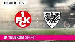 1. FC Kaiserslautern - SC Preußen Münster | Spieltag 3, 18/19 | Telekom Sport