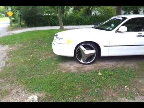 2000 Lincoln Towncar On 22s Youtube