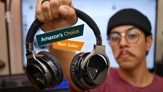 Testing Out Amazon's Best Seller Headphones - Cowin E7 Review!