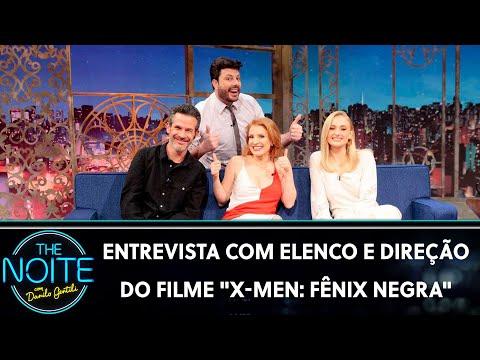 """Entrevista com elenco e direção do filme """"X-Men: Fênix Negra""""   The Noite 030619"""