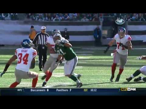 2011 - Giants @ Jets Week 16