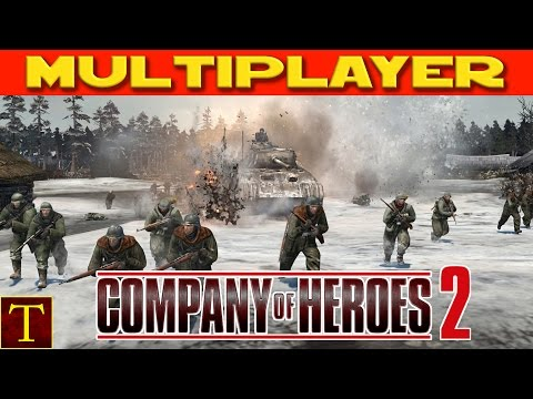 Company of Heroes 2 - 2v2 Russian Friends!