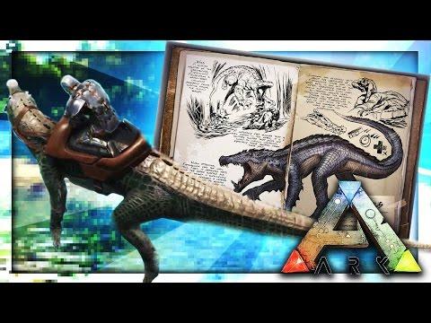 NEW CROCODILE TAME? (Kapro) Ark: Survival The Center