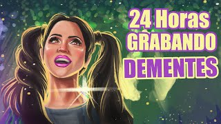 24 HORAS GRABANDO SIN PARAR! DEMENTES Detrás de Cámaras - SandraCiresArt