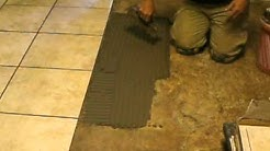 Ceramic Tile Flooring Installation training by B&H Tile and Stone Group