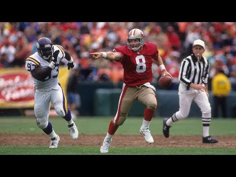 NFL Top 10: No. 7: Steve Young Runs By Vikings