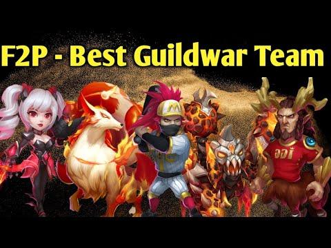 F2p | Best Guildwar Team | Best Strategy | Dont Miss Epic Battles | Castle Clash