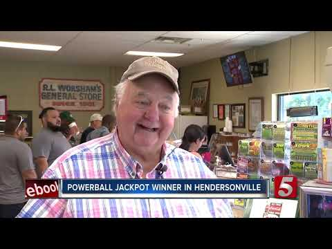 Powerball Jackpot Winner Named In Hendersonville