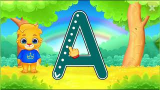 Learn Writing Alphabets A And B For Kids | 🅰️✍️🅱️ | Kids Funny Learning Phonics With Lucas And Ruby
