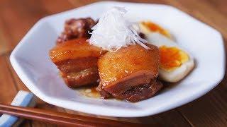 【基本の作り方】覚えておきたい!豚の角煮の作り方 ~ simmered pork belly【料理レシピはParty Kitchen🎉】