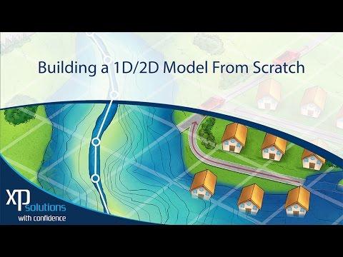 XPSWMM Tutorial Creating a 1D 2D Model from Scratch