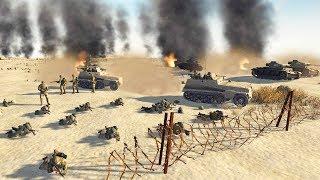 Final Allied Defense of Tobruk 1941 | RobZ Realism | Men of War: Assault Squad 2 Gameplay