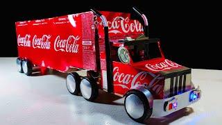 DC 모터로 코카콜라 트럭을 만드는 방법?