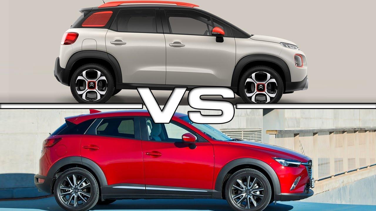 Mazda Cx 3 >> 2018 Citroen C3 Aircross vs 2017 Mazda CX-3 - YouTube