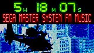 Over 5 1/4 hours of SEGA Master System FM Music