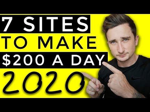 7 Websites To Make Money Online in 2020 [$200+ PER DAY]