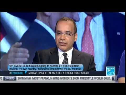 """France 24 Debate :  Israel-Palestine (""""Mideast peace talks"""")"""