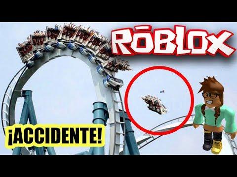 🎢 Accidente en la montaña rusa de Point Theme Park en Roblox