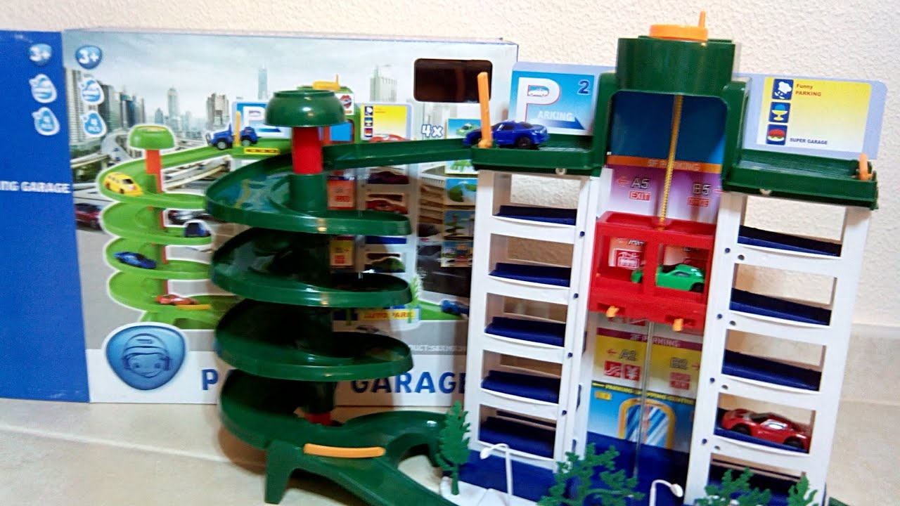 Unboxing Parking Garage Playmobil - YouTube