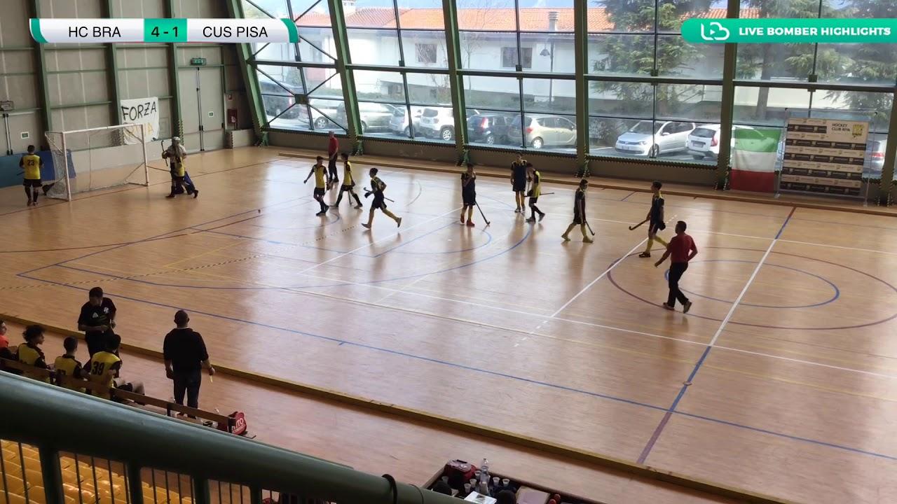 ???? Highlights #U18M #Indoor ~ HC Bra vs CUS Pisa ????