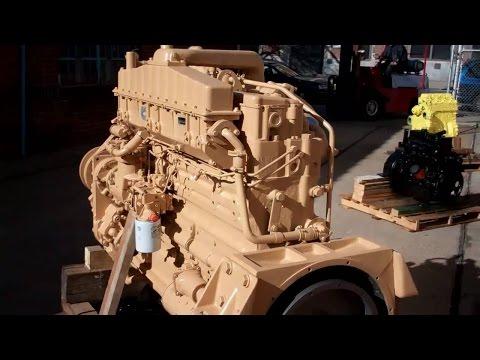 Motor Cummins NTA855 (Engesa)