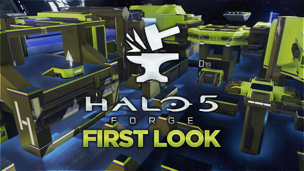 First Time Playing Halo 5: Forge PC Port