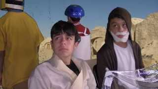 Kids Do Full Homemade Star Wars Episode 4 Remake