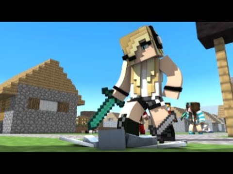 Psycho Girl   Minecraft Song Compilation Minecraft Songs And Minecraft Animation Movie