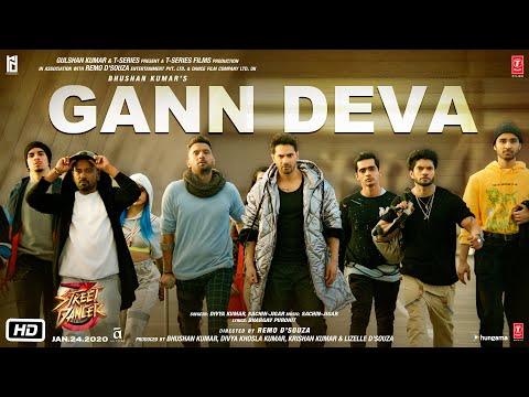 Gann Deva Song  Street Dancer 3d  Varun D, Shraddha K  Divya Kumar, Sachin-jigar