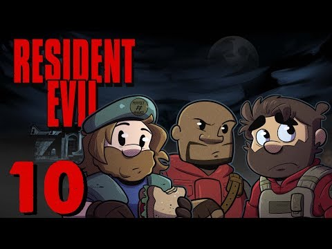 Resident Evil HD Remake | Let's Play Ep. 10 | Super Beard Bros.
