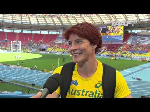 Moscow 2013 - Kathryn MITCHELL AUS - Javelin Throw Women - Qual A