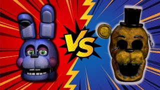 ROCKSTAR BONNIE VS GOLDEN FREDDY ⭐️ La Liga de FNAF | FNAF ULTIMATE CUSTOM NIGHT - Cuartos de Final