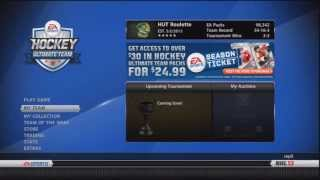 """NHL 13: HUT Roulette ep.24 - """"Elite Playoff Disappointment + Update + Sub Games"""" Thumbnail"""