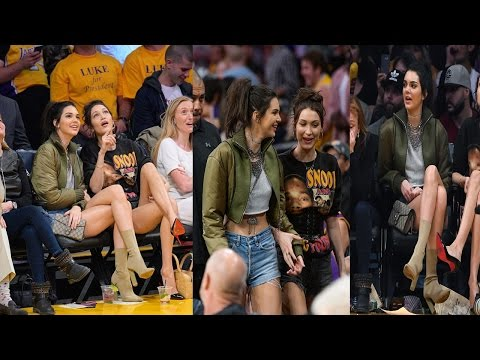 Kendall Jenner and Bella Hadid Together in Basketball Match - 2016 from YouTube · Duration:  1 minutes 29 seconds